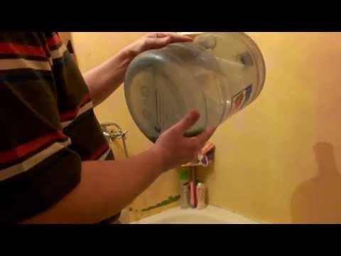 Как удалить зелень из пластиковой бутылки