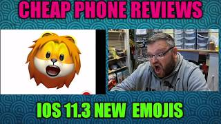 iOS 11.3 NEW emojis on iPhone x Review