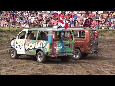 Comber Fair Demolition Derby 2017 | Mini Vans