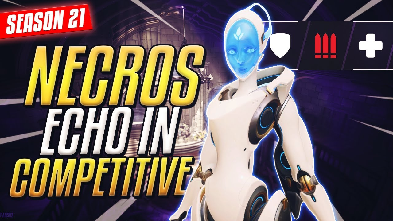 Download NECROS playing ECHO *HERO 32* IN COMPETITIVE [OVERWATCH SEASON 21]