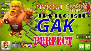 |Nyoba attack pakai barcher|#1- Clash Of Clans indonesia