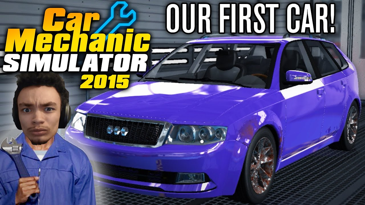 OUR FIRST CAR Auction Car Mechanic Simulator Episode - Audi car auctions