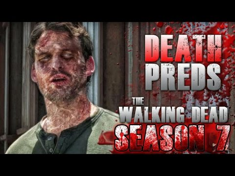 The Walking Dead Season 7 Mid-Season Finale - Death Predictions!