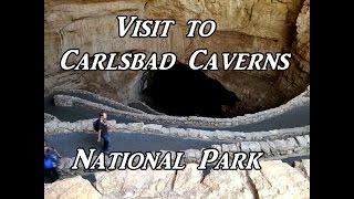 Visit to Carlsbad Caverns National Park VanLife On the Road