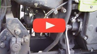 видео Установка топливного бака Т-170