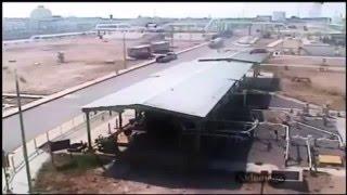 Petrol İstasyonu Patlama Anı