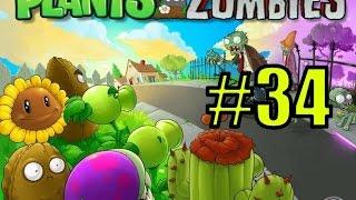 Смотреть растения против зомби #34