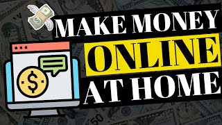 How to make money online when you don't know where start