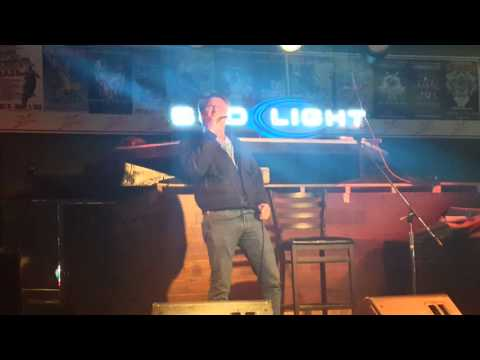Don Henley (from The Eagles) singing karaoke