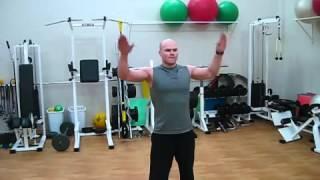 Лечение плечевых суставов. Комплекс упражнения для восстановления плечевых суставов.