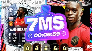 WHAT A CARD!!! 85 FREEZE CB WAN BISSAKA!! 7 MINUTE SQUAD BUILDER - FIFA 21 ULTIMATE TEAM