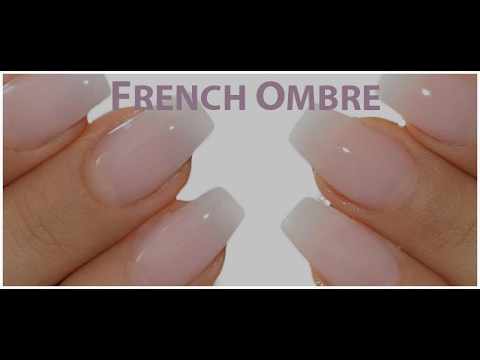BABY FRENCH OMBRE STEP BY STEP NAIL DESIGN