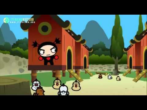 Phim Hoạt Hình Ninja Vui Nhộn Tập 6: Pucca và cuốn sách cẩm nang ninja bá chủ cổ đại