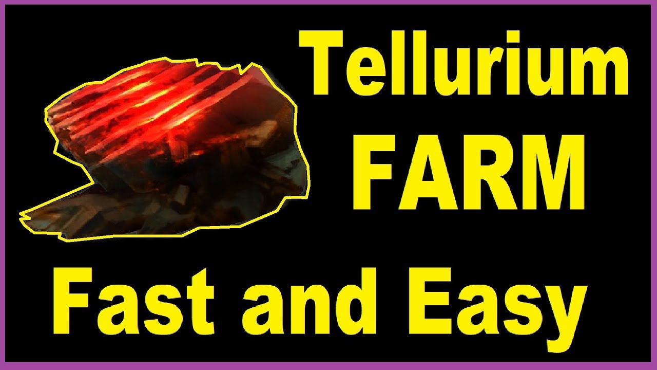 How To Farm Tellurium Best Place In Warframe Youtube The dry dock is the component that you have to build that will be housing the railjack ships in warframe. how to farm tellurium best place in warframe