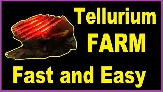 How To Farm Tellurium Best Place In Warframe Youtube The most efficient way to farm resources is with a resource booster and a nekros/nekros. how to farm tellurium best place in warframe