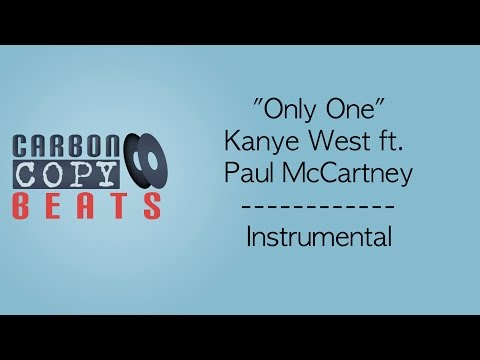 Only One - Instrumental / Karaoke (In The Style Of Kanye West Ft. Paul McCartney)