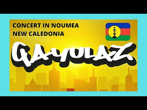 GAYULAZ, the ROCK GROUP, ROCK NOUMEA with Melanesian Music, NEW CALEDONIA