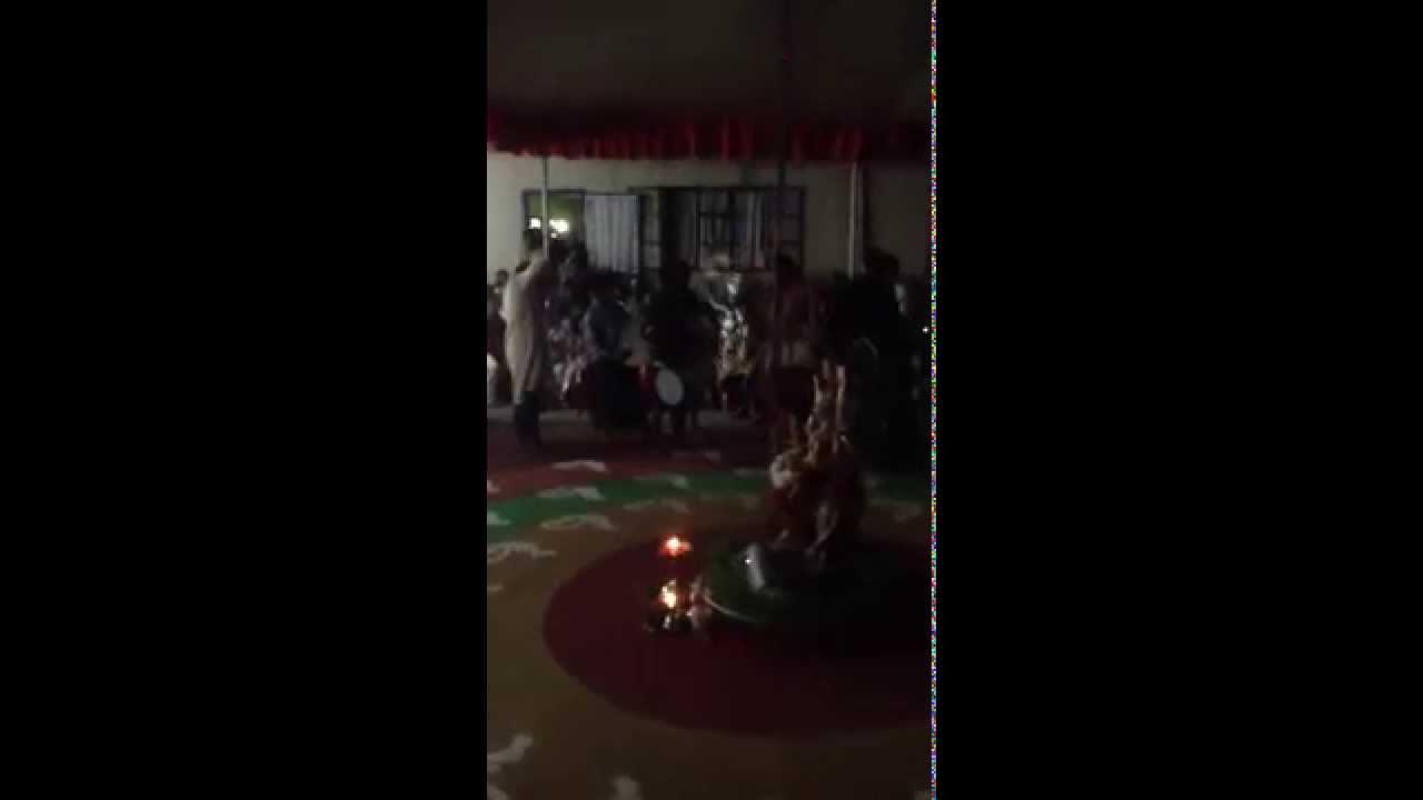 Durga pooja 2014 at Kashipur Hanuman Mandir Mandali cassis - YouTube