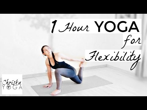 1 Hour Yoga Class for Flexibility - {Full Length Class} Deep Stretches for Flexibility -Intermediate