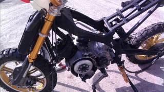 Projet pocket bike cross
