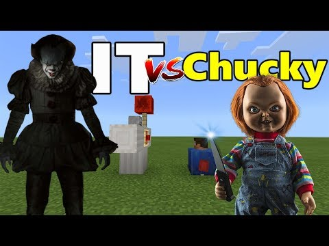 IT vs Chucky | Minecraft PE