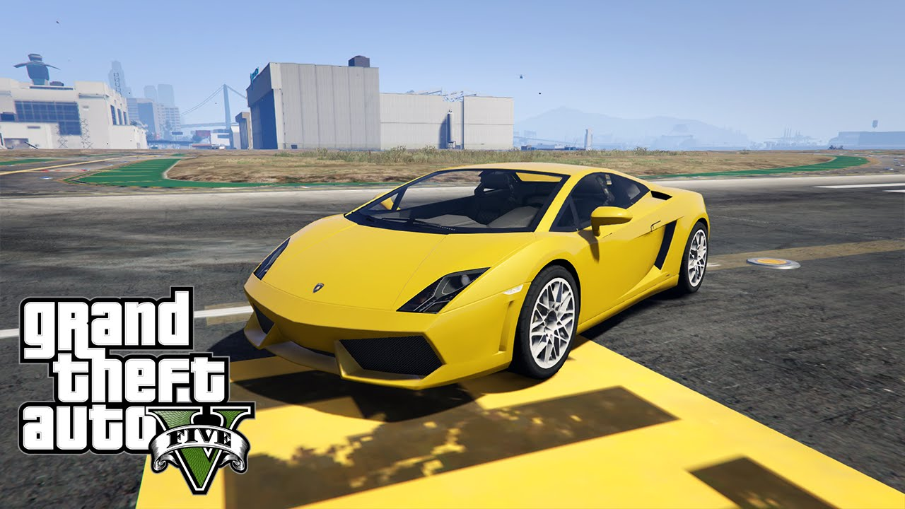 Lamborghini Gallardo Lp560 4 Gta V Mod Youtube