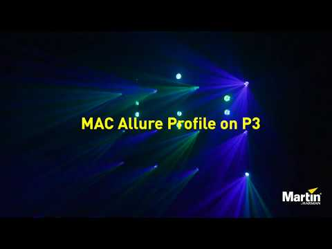 Martin P3 Software - Controlling MAC Allure Profiles With P3