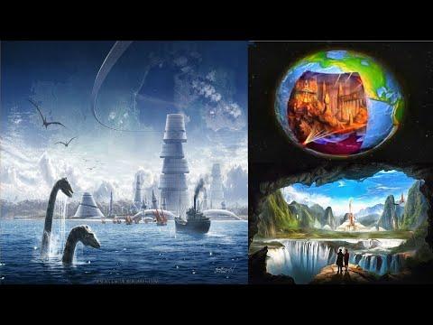 Загадочные пузыри внутри Земли - планета таки полая?