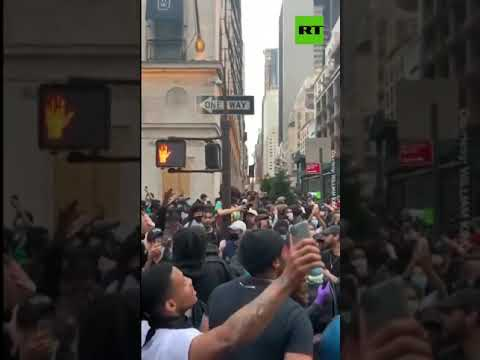 outraged-crowds-march-towards-trump-tower-amid-nationwide-unrest,-nyc