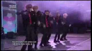 TEEN TOP Singing To Indonesian Song ~ She Is My Girl @KBS MUSIC BANK IN JAKARTA [130319]
