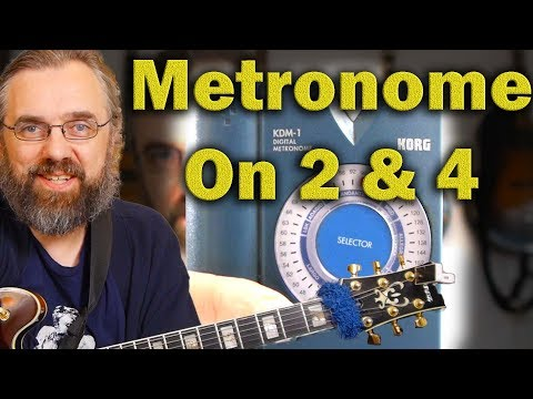 Metronome on 2&4 - How to get started - Jazz Guitar Lesson