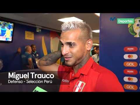 Miguel Trauco: 'El profe me metió mi gritada y estuve más aplicado' | PERU 3-1 BOLIVIA