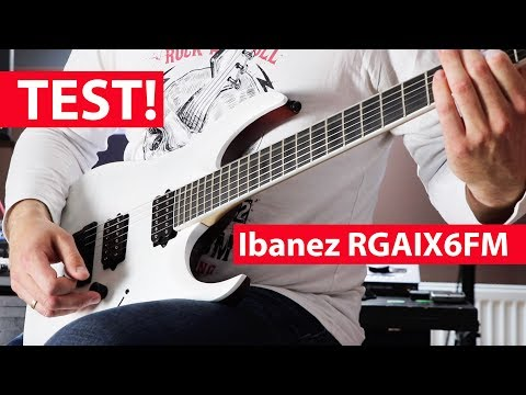 [TEST] Ibanez RGAIX6FM Iron Label