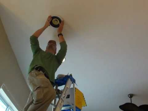 How To Install Wall And Ceiling Flush Mount Speakers Youtube