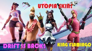 Fortnite-Utopia Skin, Summer Challengek, Drift back! V. 9.30!