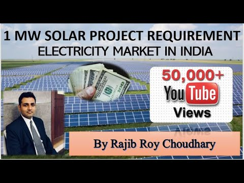1 MW Solar Project Requirement