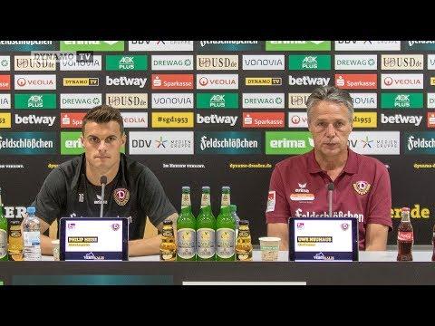 4. Spieltag   BOC - SGD   Pressekonferenz vor dem Spiel