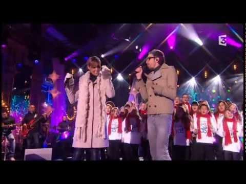 Chimene Badi, Christophe Willem & Gospel Kids - Oh Happy Day @ Noël sous les étoiles