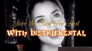 "Vanessa Williams - ""Save the Best for Last"" - Piano Solo Instrumental"