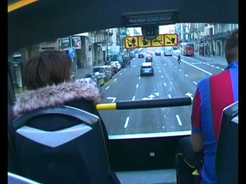 Tourist Bus,Barcelona s Daniel Dimitrov