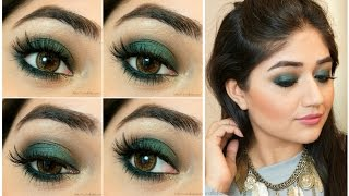 Green Smoky Eye Makeup Tutorial | corallista