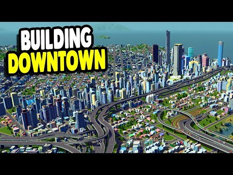 FINALLY Building Big City Sector & Massive Updates   Cities: Skylines Gameplay