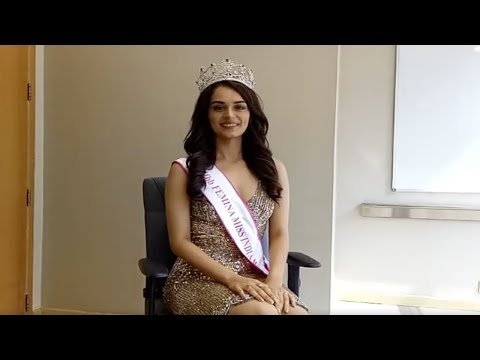In conversation with fbb Femina Miss World 2017 Manushi Chhi