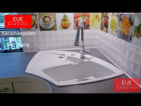 ecksp len aus keramik von villeroy und boch youtube. Black Bedroom Furniture Sets. Home Design Ideas