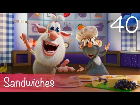 Booba - Sandwiches - Food Puzzle - Cartoon for kids thumbnail