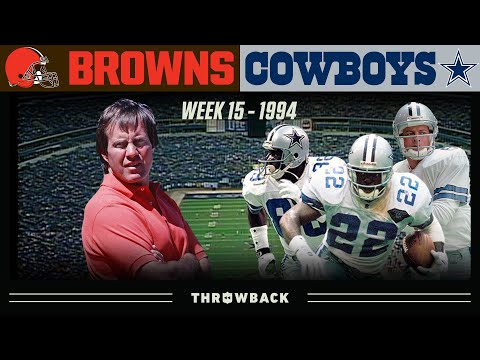 [NFL Throwback] Browns vs Cowboys, 1994 Week 15