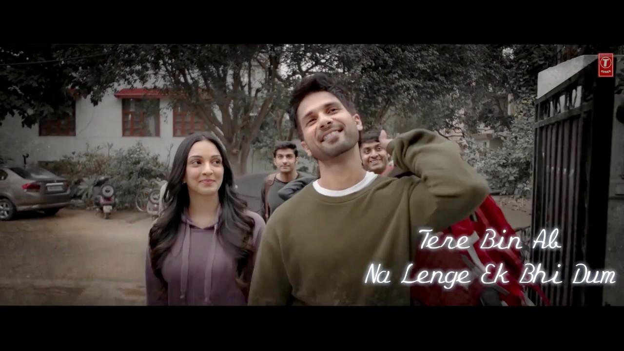 Lyrical Tujhe Kitna Chahne Lage Aur Film Version Kabir Singh