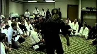 George Dillman/Dillman Karate International/KO from Augmented Block