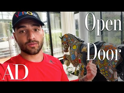 Inside Maluma's Massive Colombian Mansion | Open Door | Architectural Digest