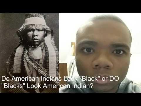 "Do American Indians Look ""Black"" or Do ""Blacks"" Look American Indian?"